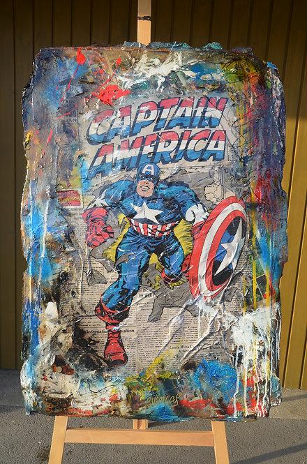 Capitan America Retro