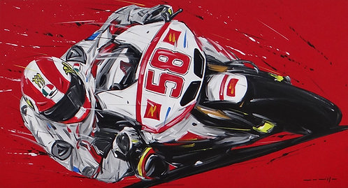 Moto GP Simoncelli Honda 58