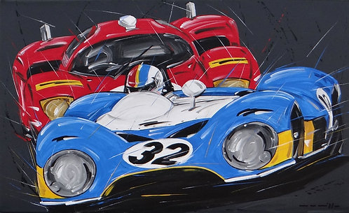 Le Mans Matra Cevert