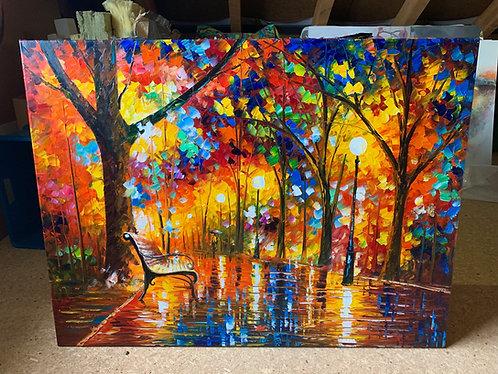 Colorful Night 120x90cm
