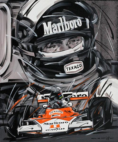 F1 James Hunt McLaren 11