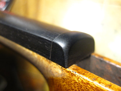 Ebony Upper and lower Saddle Violin