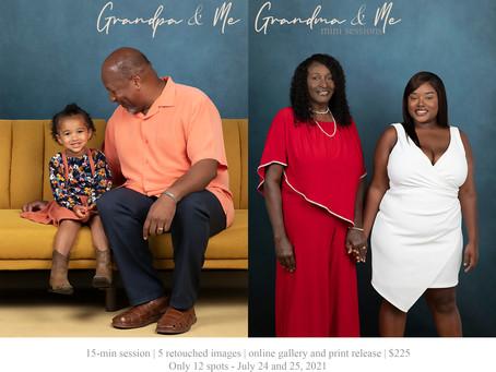 2021 Grandpa & Me and Grandma & Me Mini Sessions