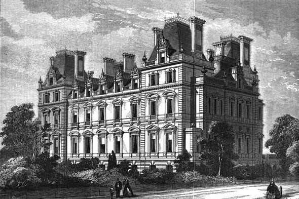 Montagu House Whitehall London
