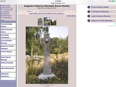 Lady Augusta memorial, Frogmore