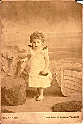 Norman Ross Crosby childhood photo (1800's, Toronto)