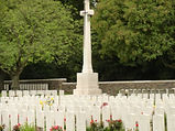 WWI cemetery, France