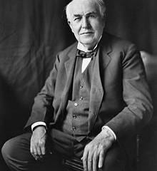 Thomas Edison, King George V, Sir Arthur Conan Doyle & Flo Ziegfeld