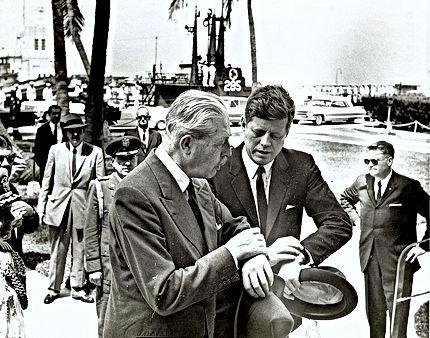 Harold MacMillan & JFK