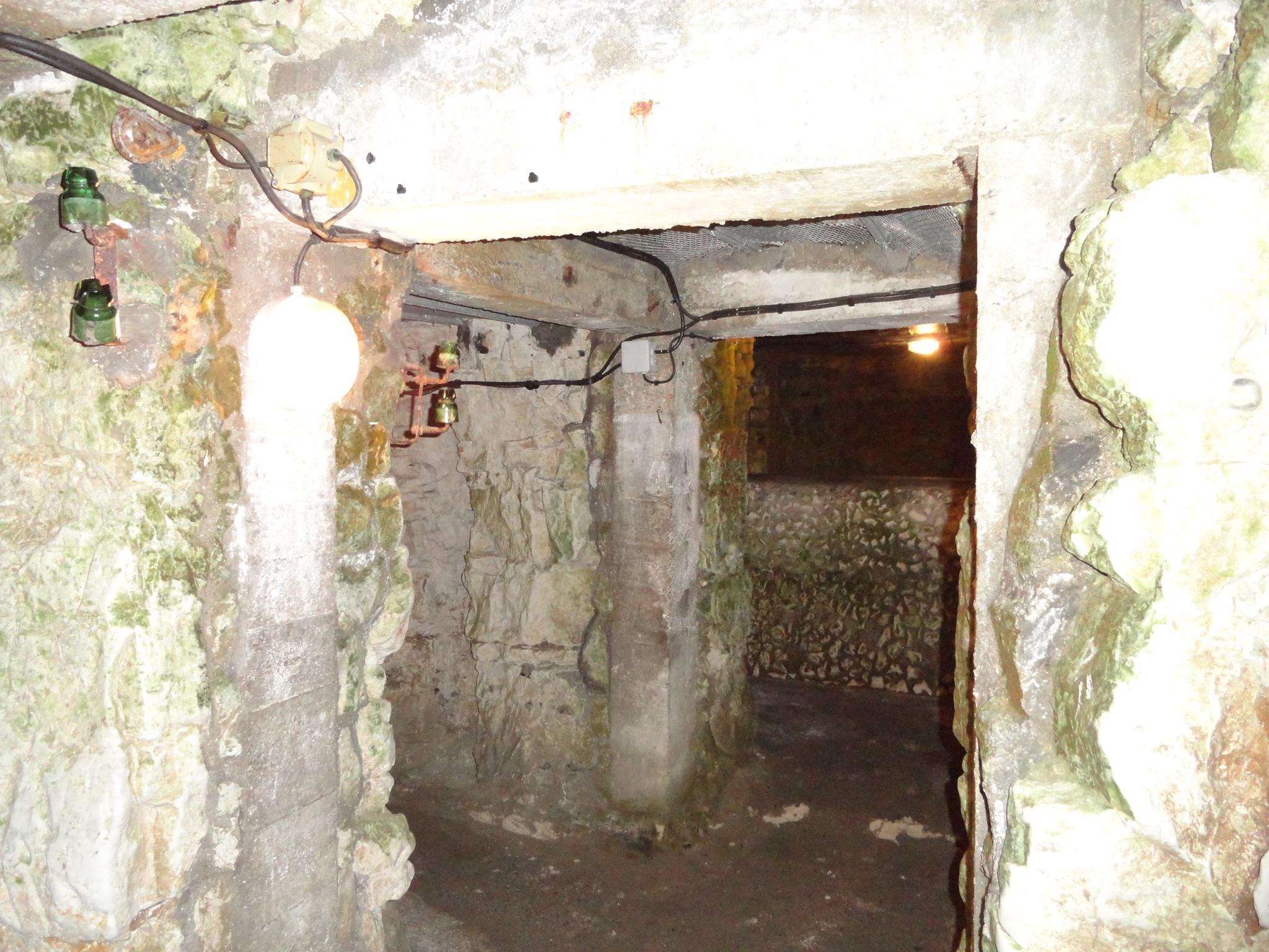 WWI underground tunnels, Vimy Ridge