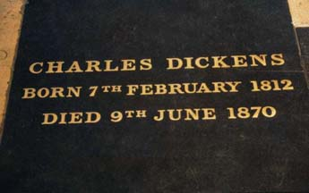 Dickens-grave