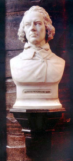 Tennyson-bust