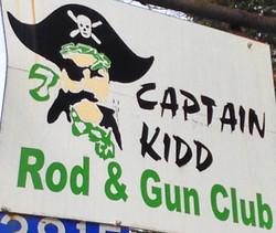 captainkidd highway sign