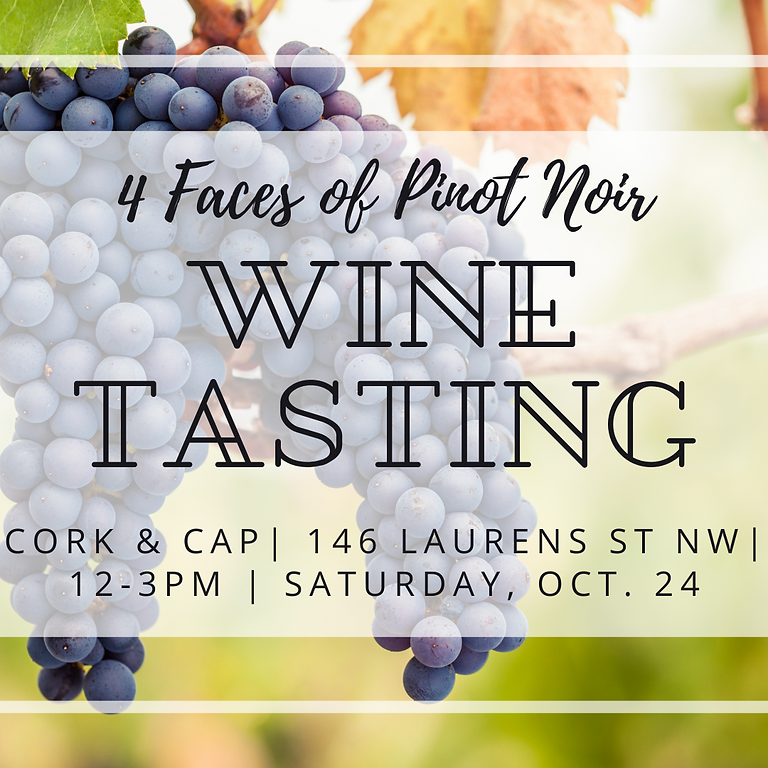 4 Faces of Pinot Noir Wine Tasting!