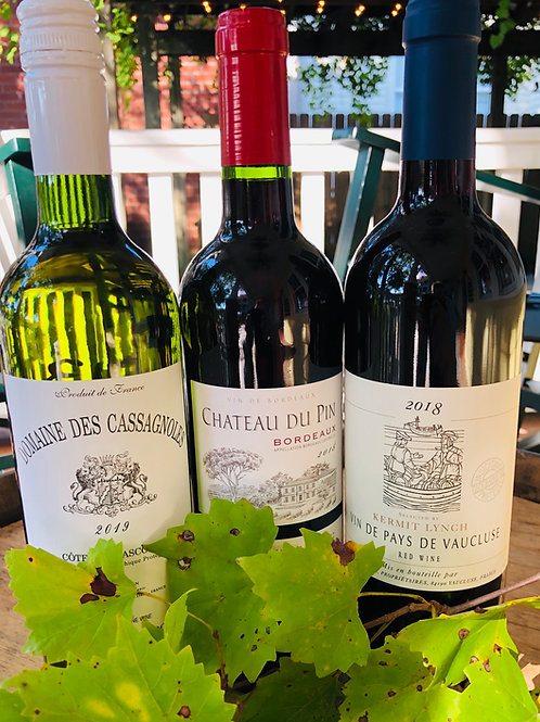Classic French Bistro 3-pack Wine