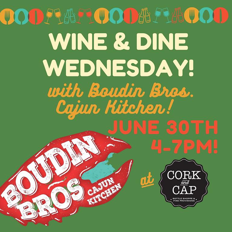 Wine & Dine : Boudin Bros.