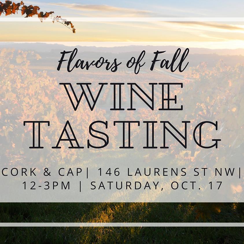 Flavors of Fall Wine Tasting!