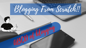 ABCD of blogging, Understand Blogging from scratch!!