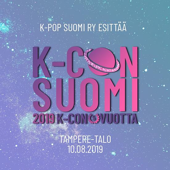 k-con suomi event banner