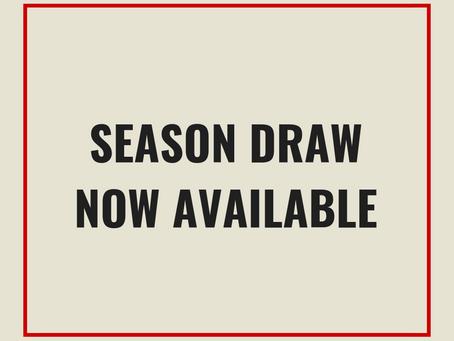 Season draw released