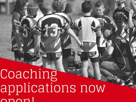 Coaching applications open