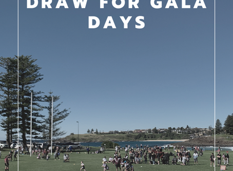 Gala day draw