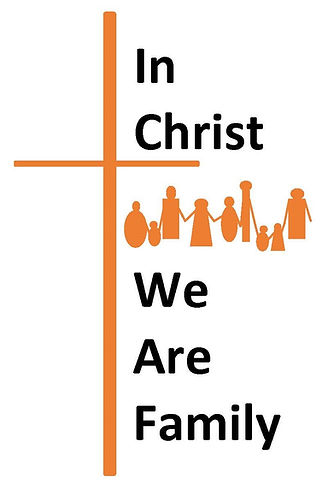 We are family with cross - cropped close