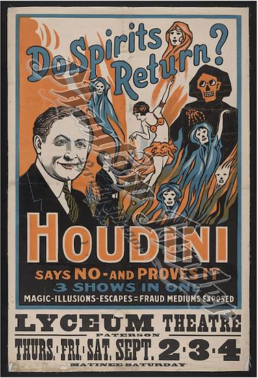 Houdini Poster Marker