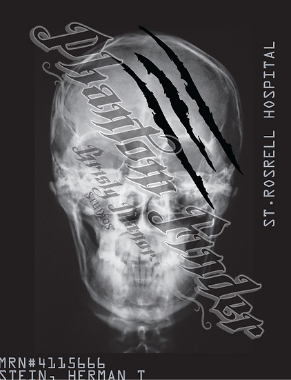 Horror X-ray poster marker/Self-Illuminated Poster