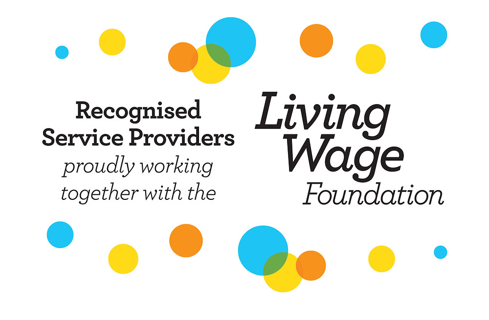 K. Burrett Cleaning Services Living Wage Foundation Recognised Service Provider