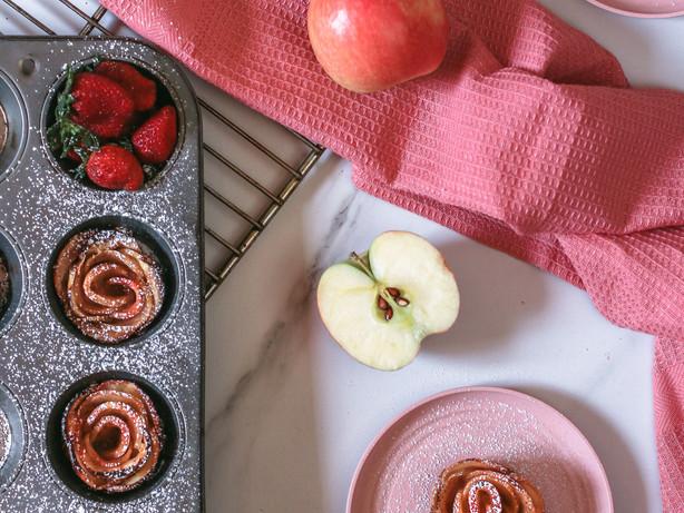 Apple Rose Tarts: A Must-Have Potluck (Koroga) Dessert