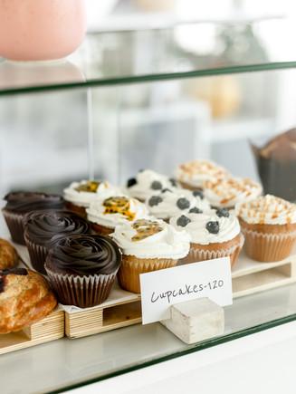 Cupcakes at the Sugar Baked Store