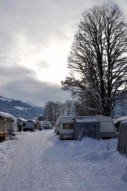 Winter am Platz
