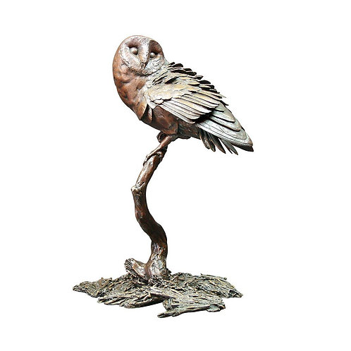 """""""Night Owl"""" Bronze Sculpture by Michael Simpson. Limited Edition"""
