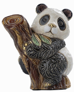 De Rosa Baby Panda on a Tree