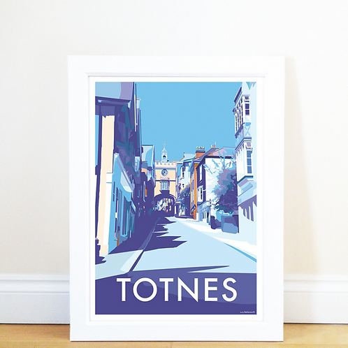 Totnes Poster Becky Bettesworth
