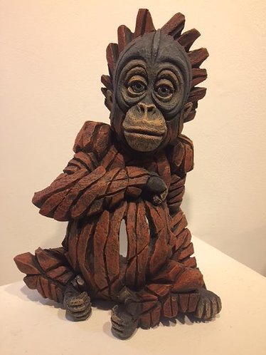 Baby Orangutan Sculpture, by Matt Buckley