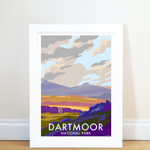 Dartmoor Poster Becky Bettesworth