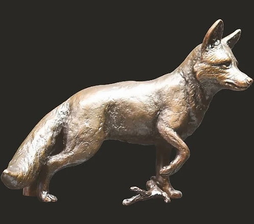 Fox Standing - Limited Bronze from Keith Sherwin.