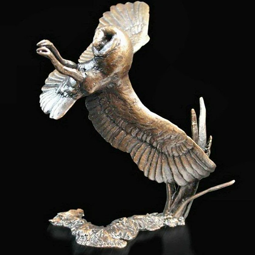 Barn Owl - Limited Bronze from Michael Simpson