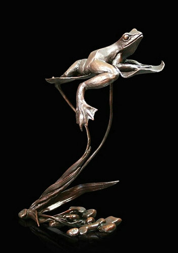 """Summer Reflections"" Bronze Sculpture by Michael Simpson"