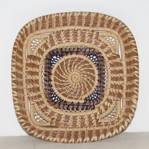 Rectangular Pine Needle Basket