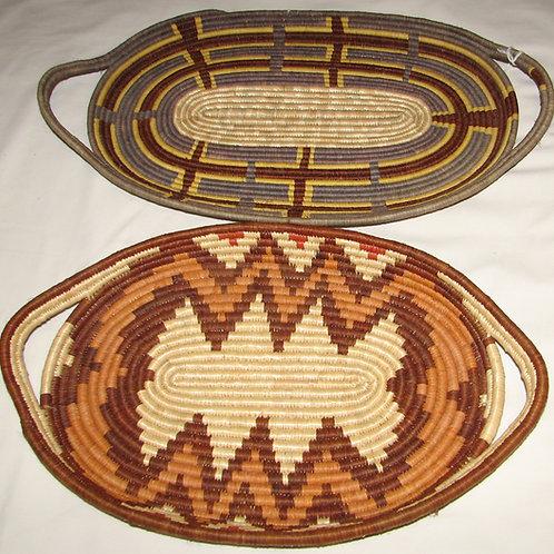Rwensori Raffia Platter