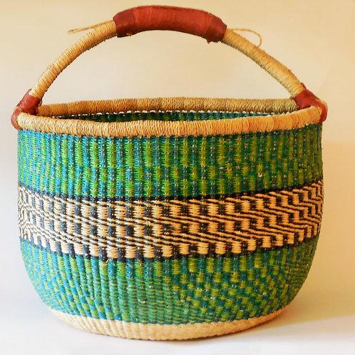 Bolga Shopping Basket