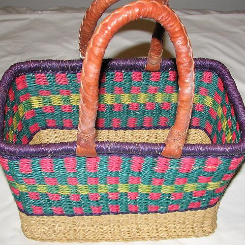 Bolga Square Shopping Basket