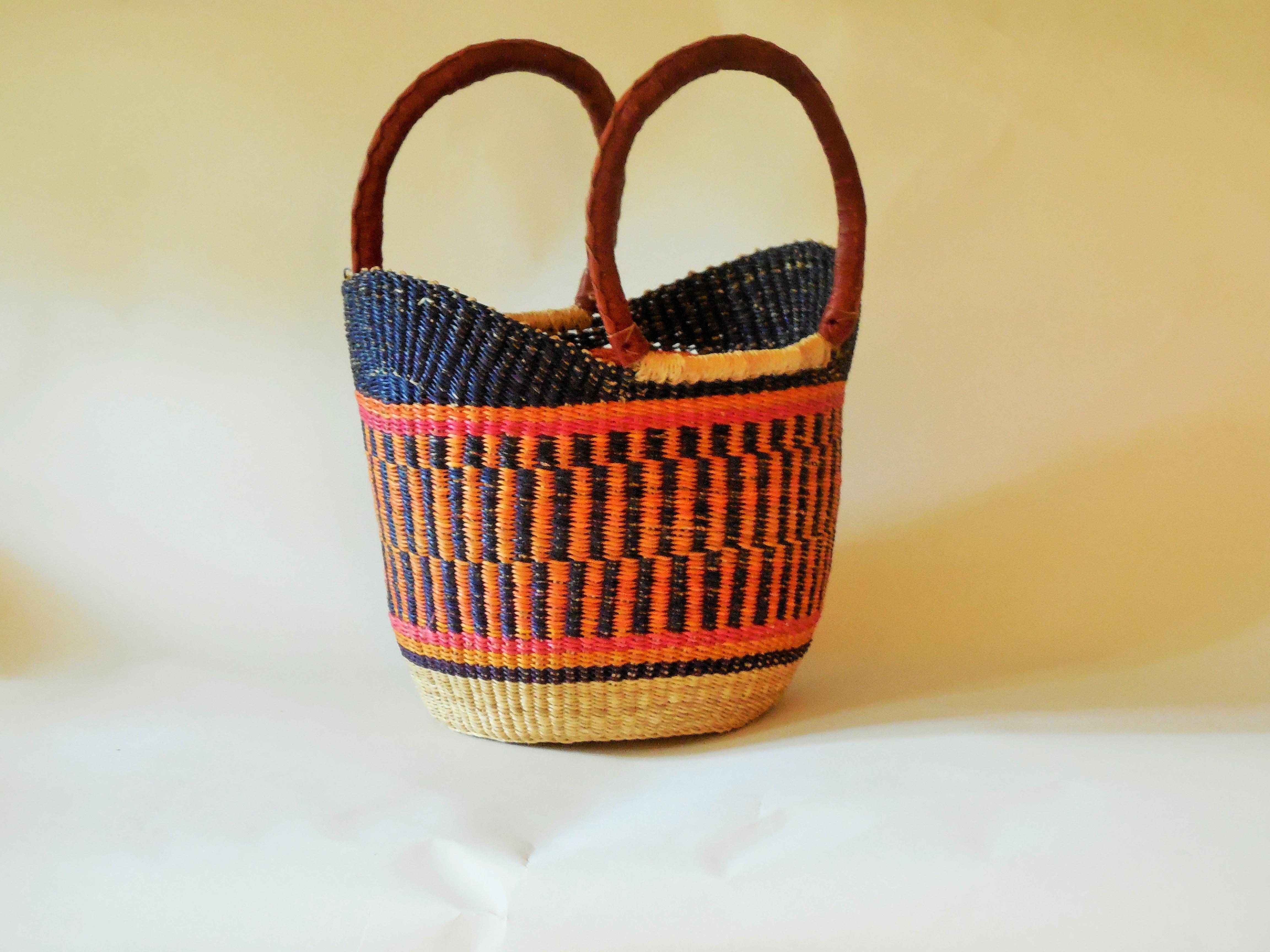 Bolga Tulip Basket