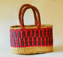 Two Handled Bolga Shopper