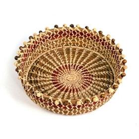 Guatemalan Pine Needle Basket