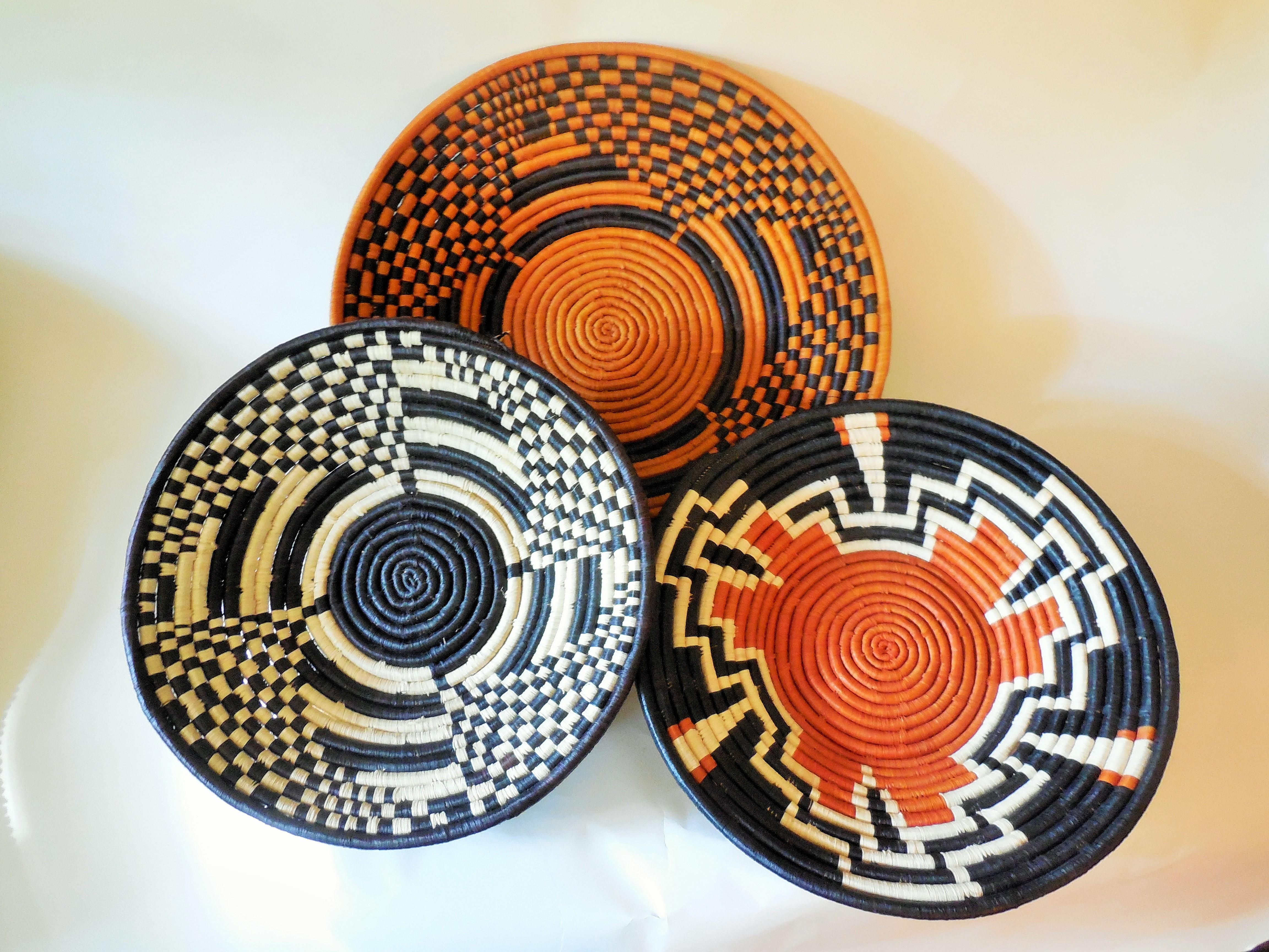 Ugandan Shallow Bowls