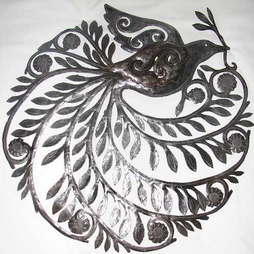 Unpainted Dove Wall Hanging